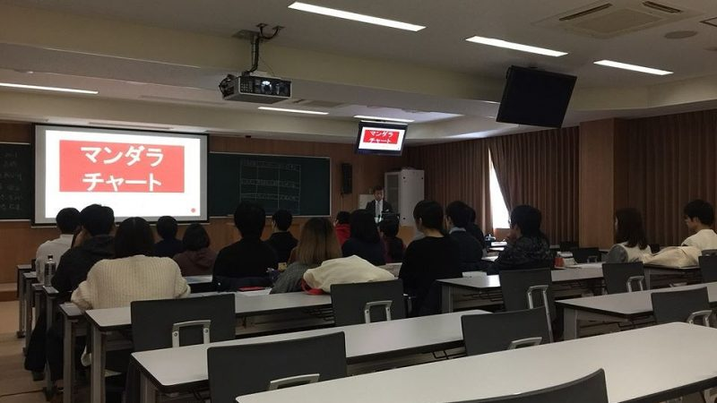 札幌市 北海道大学医学部ボート部様 マンダラチャートワークショップ開催
